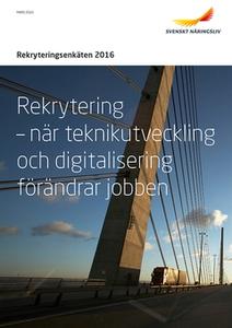 Rekryteringsenkäten 2016 (e-bok) av Svenskt När