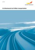 En klimatneutral och hållbar transportsektor