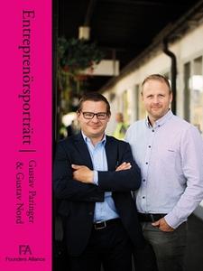 Entreprenörsporträtt Gustav Paringer och Gustav