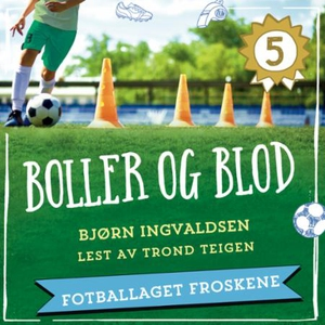 Boller og blod (lydbok) av Bjørn Ingvaldsen