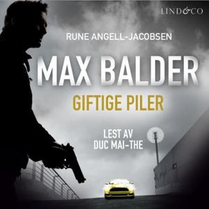 Giftige piler (lydbok) av Rune Angell-Jacobse
