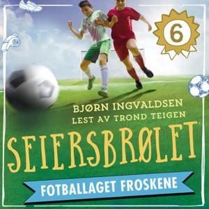 Seiersbrølet (lydbok) av Bjørn Ingvaldsen