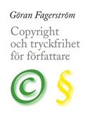Copyright och tryckfrihet för författare