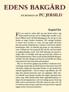 Edens bakgård (e-bok) av PC Jersild, P C Jersil
