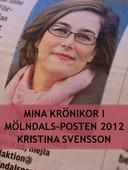 Mina krönikor i Mölndals-Posten