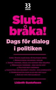 Sluta bråka! (e-bok) av Lisbeth Gustafsson