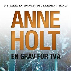 En grav för två (ljudbok) av Anne Holt