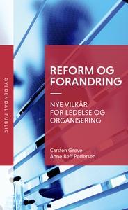 Reform og forandring (e-bog) af Carst