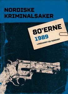 Nordiske Kriminalsaker 1989 (ebok) av Diverse