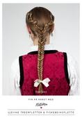 Fin på håret med FletteMia: Ujenve treerfletter og fiskebeinsflette