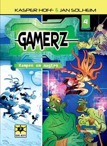Gamerz 4 - Kampen om magten (lydbog)
