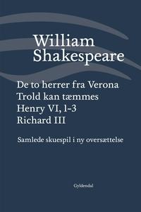 Samlede skuespil / bd. 1 (e-bog) af W
