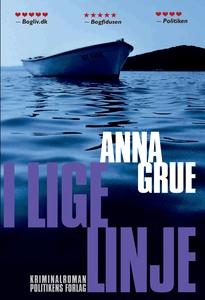 I lige linje (e-bog) af Anna Grue