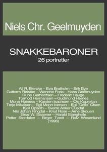 Snakkebaroner (ebok) av Niels Chr.  Geelmuyde