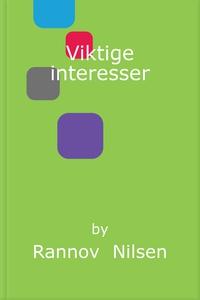 Viktige interesser (ebok) av Rannov  Nilsen