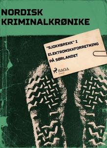"""""""Sjokkbrekk"""" i elektronikkforretning på Sørla"""