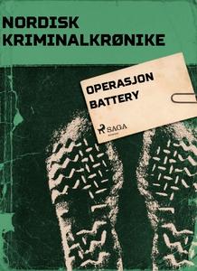 Operasjon Battery (ebok) av Diverse forfatter