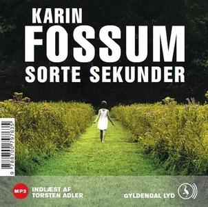 Sorte sekunder (lydbog) af Karin Foss