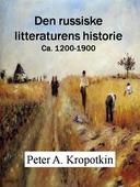 Den russiske litteraturens historie
