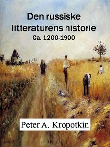 Den russiske litteraturens historie (ebok) av