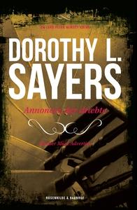 Annoncer, der dræbte (e-bog) af Dorot
