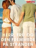 Herr, fru og den fremmede på stranden