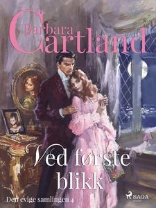 Ved første blikk (ebok) av Barbara  Cartland
