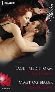 Taget med storm/Magt og begær (e-bog)