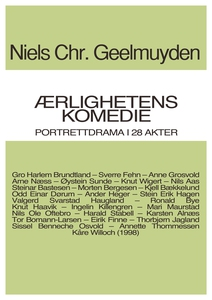 Ærlighetens Komedie (ebok) av Niels Chr.  Gee