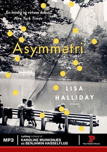 Asymmetri (lydbog) af Lisa Halliday